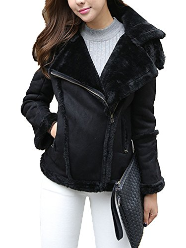 Sheepskin Suede Coat - 9