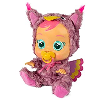 Cry Babies Owl Pajamas (Doll Not Included), Purple