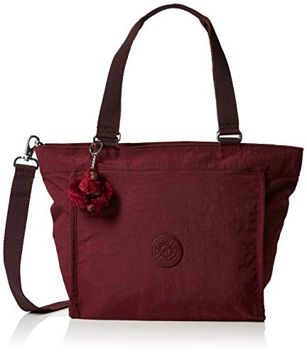 Kipling - New Shopper S, Borse Tote Donna Marrone (Burnt Carmine C)