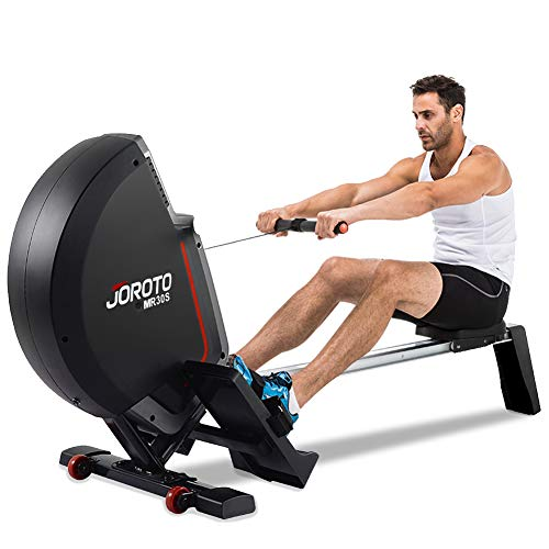 JOROTO Rowing Machine Rower Equipment – Folding Magnetic Exercise Rower Rowing Machine for Home Use