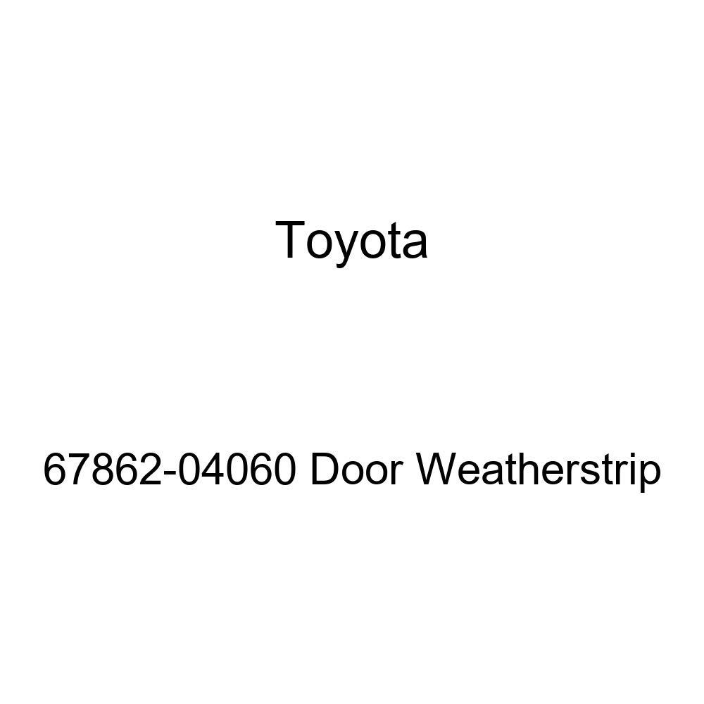 TOYOTA Genuine 67862-04060 Door Weatherstrip