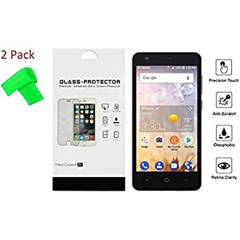 Amazon.com: for ZTE Avid 559 2Pack Tempered Glass Screen