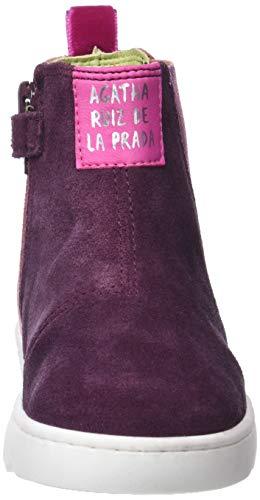 Ruiz Prada Rose vino Bottes Agatha De Carmin Classiques 181952 La Fille STxtgqwtd