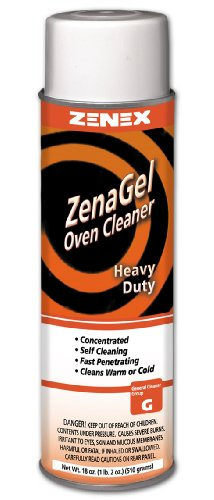 Zenex ZenaGel Industrial Jelled Oven Cleaner - 12 Cans (Case)