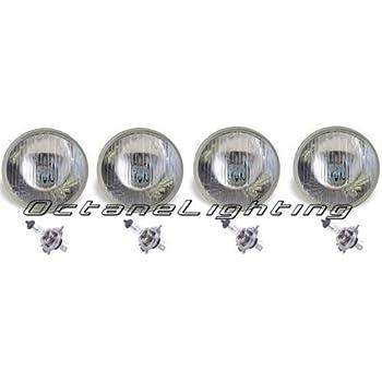 Amazon Com 5 3 4 Inch Round Euro Style Premium Headlights