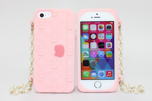 Sanrio Hello Kitty Clutch Bag iPhone 5/5s Case (Pink)