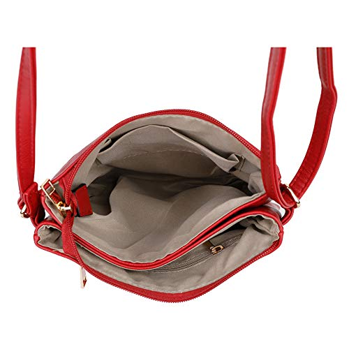 Femme Sac London Craze Red Bandoulière 4ZFqfxSH