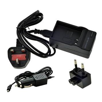 Henweit ® D - LI50 de la cámara Cargador de batería para ...