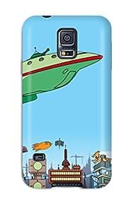 Top Quality Protection Futurama Cartoon Anime Cartoon Case Cover For Galaxy S5