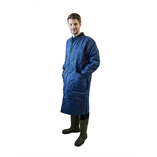 Stitch Insulated Jacket - UltraSource Insulated Freezer Smock Liner, Light Weight, Size Medium