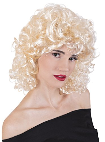 Blonde Bad Girl Wig (Kangaroo's Halloween Accessories - 50's Blonde Wig)