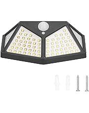 Solar Motion Sensor Light, Garden Wall Lamp Solar Light för Garden Courtyard Villa Corridor, Garden Swimming Pool, Road Lighting, Parking Lot