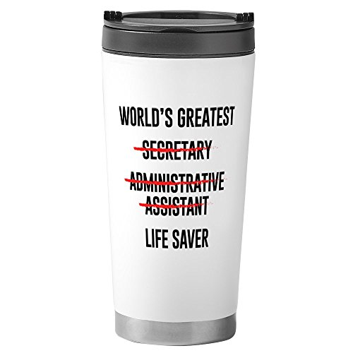CafePress - World's Greatest - Stainless Steel Travel Mug, Insulated 16 oz. Coffee Tumbler
