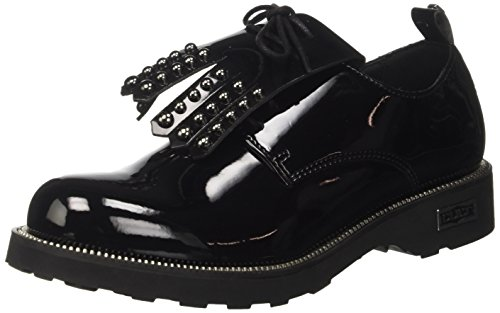 Cult Zeppelin Low 1820, Pantofole a Collo Basso Donna nero