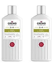 Cremo Barber Grade Sage & Citrus 2-in-1 Shampoo & Conditioner, 16 Oz (2-Pack)