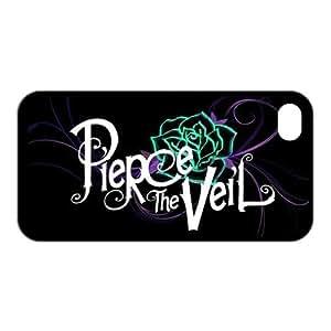 PIERCE THE VEIL Rose Unique Apple iphone 5 5s Durable Hard Plastic Case Cover CustomDIY