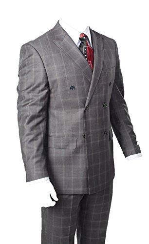 Windowpane Plaid Suit - 9