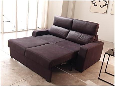 SHIITO Sofá Cama Tres plazas de 186 x 173 cm Modelo RODA tapizado ...