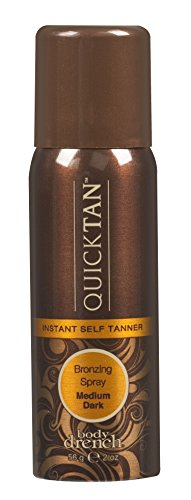 Price comparison product image Body Drench Quick Tan Instant Self Tanner Bronzing Spray, Medium/Dark, 2 Ounce