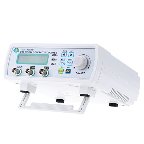 Signal Detector, KKmoon High Precision Digital DDS Dual-channel Signal Source Generator Arbitrary Waveform Frequency Meter 200MSa/s 25MHz Signal Detector