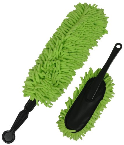 Detailer's Preference Eurow Microfiber Knobby Car Duster Set (2-Pieces)