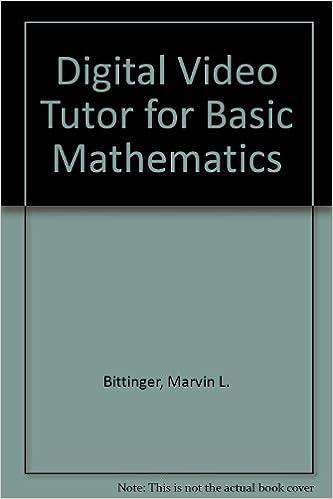 Basic mathematics, 10th edition bittinger developmental.