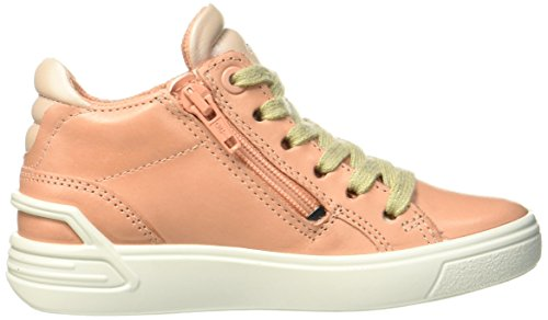 Ecco Mädchen Ginnie Hohe Sneaker Pink (Muted Clay)