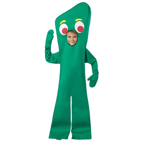 (Official Costumes Big Boys Gumby Costume, Medium)