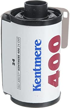 Kentmere 400 asa, blanco y negro, 35/mm, 36 exposiciones, 5 unidades Pel/ícula fotogr/áfica