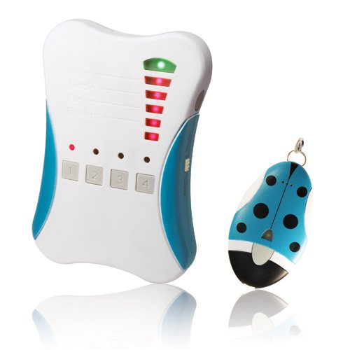 Ardi 2.4GHz Digital RF Guardian Angel, 807G1, 1 Base Unit & 1 Tag Unit. Kid Tracker/Smart Direction & Distance Indicator/500M Effective Distance/Proximity Alarm Function/Mute Mode. Made in -