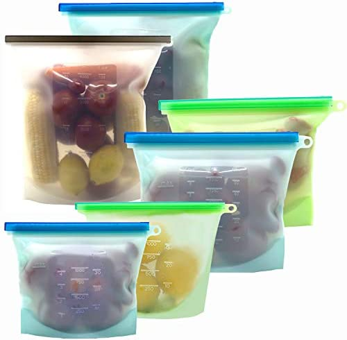 Reusable Silicone Storage KITHELP containers