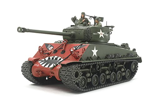 Tamiya 1/35 M4A3E8 Sherman Easy Eight w/GAZ67B