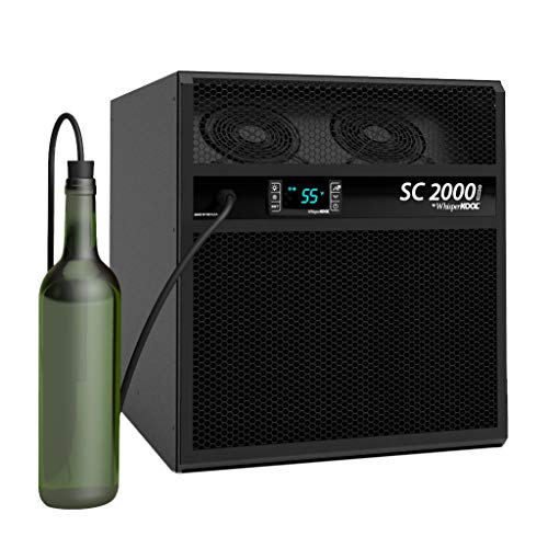 Cooling Wine Cellar - WhisperKOOL SC 2000i Wine Cellar Cooling Unit (up to 300 cu ft)