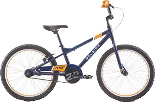 RALEIGH Bikes MXR 20 Kids BMX Bike for Boys Youth 4-8 Years Old, Blue by RALEIGH (Image #1)