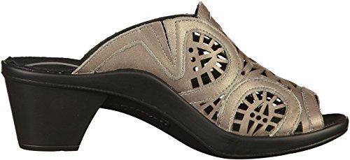 Romika 7065 Womens Mules Platinum wNx1e9K