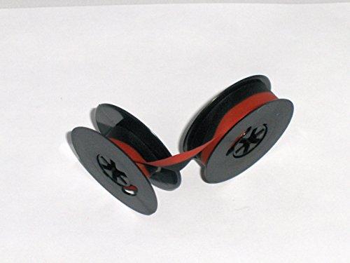 Diameter Ribbon (Smith Corona Typewriter Ribbon Black and Red Ink Twin Spool)