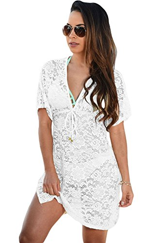 shelovesclothing - Vestido - para mujer blanco