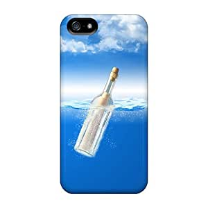 High Grade Estebanrivera-11 Flexible Tpu Case For Iphone 5/5s - Drift Bottles