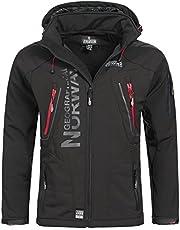 Geographical Norway Espoo Softshelljas voor heren, outdoor functionele jas
