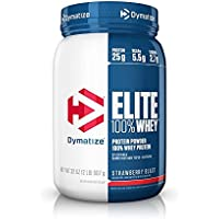 Dymatize Elite Whey Protein, Strawberry Blast, 2lb, 907g