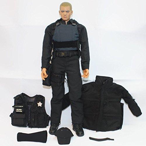 MonkeyJack 1/6 Modern ARMY SWAT Vest Uniform w Pouches for 12'' DID TC DRAGON Action Figure - 12' Figure Dragon
