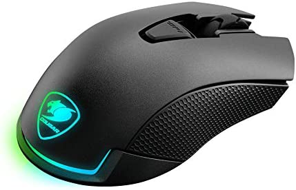 Cougar Revenger Wired USB Optical Gaming Mouse with 12,000 DPI CGR-WOMI-REV Black
