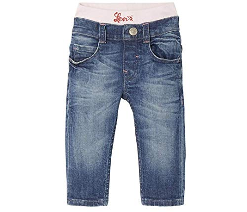Levi's kids Trousers, Jeans para Niñas, Azul (Indigo 46), 2-3 años (Talla del Fabricante: 36M)