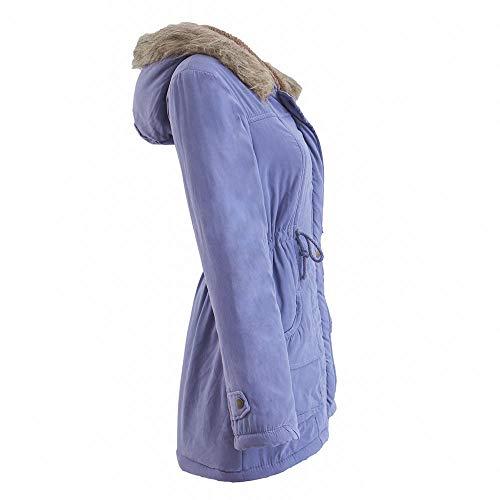 Mujer Cielo Para Grande Capucha Ropa Perro 2019 Outwear De Ashop Con Mujer Azul Impermeable Invierno Chaquetas Algodón Abrigo 5aSBwnqCx