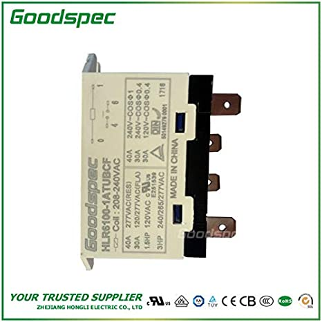 HLR6100-1ATUBCF-VAC240 HIGH Power Relay: Amazon.com: Industrial & Scientific