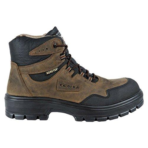 """Cofra 82080–001.w39taglia 39s3WR CI HI HRO SRC """"Arkansas sicurezza scarpe, colore: marrone/nero"""
