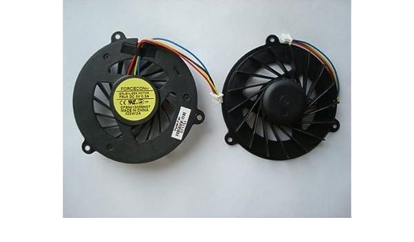 Ventilador de refrigeración para CPU para ordenador portátil con pasta térmica gratuita compatible con los modelos: ASUS Laptop Models G50 G50V G50VT G51 ...