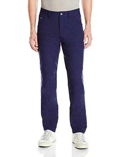 PUMA Golf 2017 Men's 6 Pocket Pants, Peacoat, 34x32