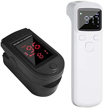 Body Temperature Tool, Decdeal LCD Digital Display, Portable Finger Tip LED Display Home/Sport Use