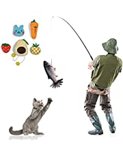 Realistic Plush Simulation Electric Doll Fish, Funny Interactive Pets Chew Bite Supplies for Cat Kitty Kitten Fish Flop Cat Toy Catnip Toys - Perfect for Biting, Chewing and Kicking